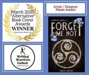 Alternative book cover award Forget Me Not