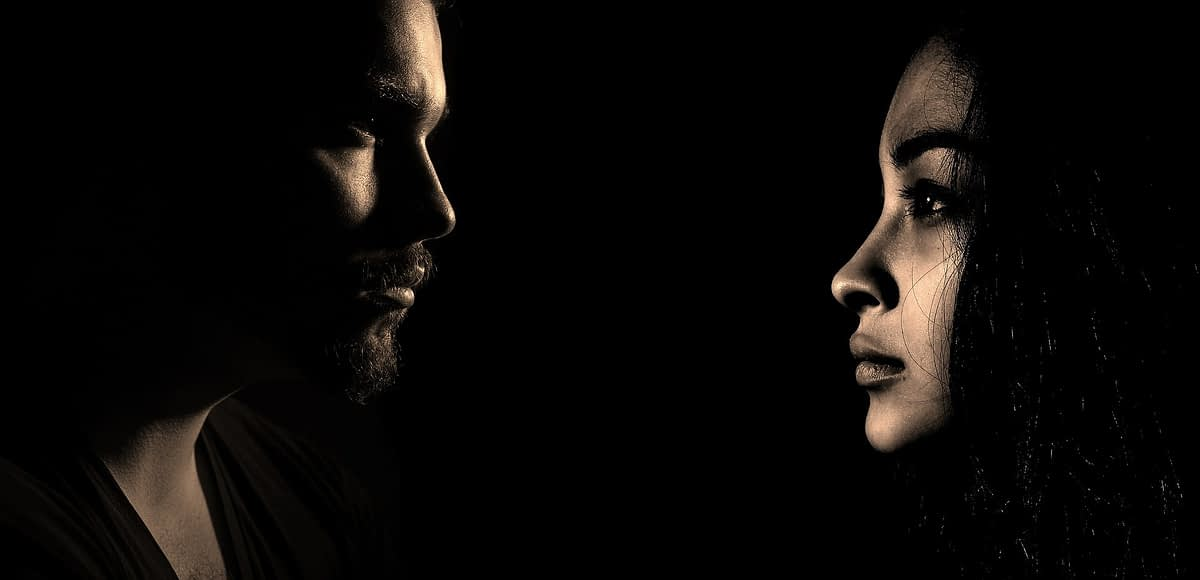 Lost Girl Fan Fic - man and woman facing each other